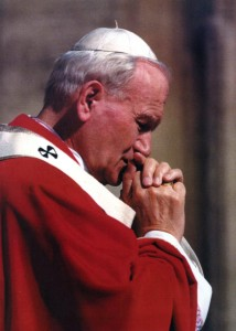 Pope-John-Paul-II-In-Prayer